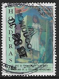 Honduras # C1009 - Woman & Child - used   -{BR9}