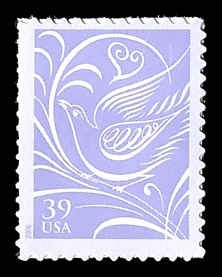 PCBstamps   US #3998 39c Dove facing left, MNH, (25)