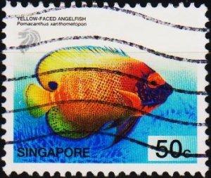 Singapore. 2001 50c S.G.1132 Fine Used