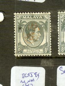 MALAYA JAPANESE OCCUPATION PENANG ITCHIBURI (P1912B) 8C  SGJ73  VFU