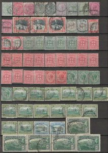 COLLECTION LOT OF #1766 JAMAICA 65 STAMPS 1870+ CLEARANCE CV= $37