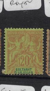 French Anjouan SC 9 MNG (4dub)