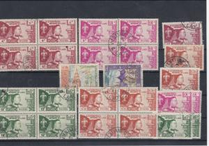 Laos Used Stamps + Blocks Ref: R5721