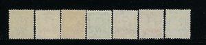 NEW ZEALAND SCOTT #226-228C 1938-44 GEORGE VI DEFINITIVES - MINT NEVER HINGED