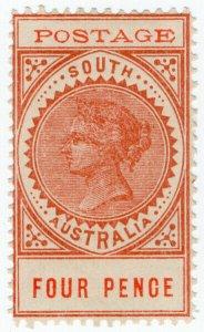 (I.B) Australia Postal : South Australia 4d (SG 269)