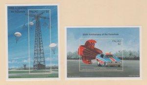 Palau Scott #424-425 Stamps - Mint NH Souvenir Sheet
