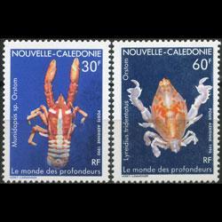 NEW CALEDONIA 1990 - Scott# C220-1 Marine Life Set of 2 NH