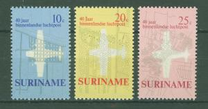 SURINAM/SURINAME 1970 MNH SC.375/77 Airmail Service 40th