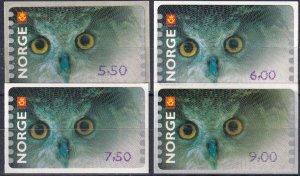 Norway 2004 Eagles MNH (Z7359)