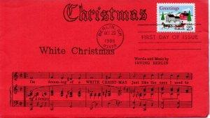 US FDC #2400 Christmas, Lloyd (9780)