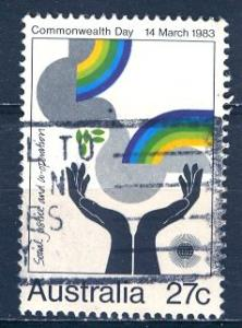 Australia 1983; Sc. # 865; O/Used Single Stamp