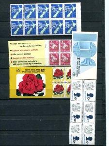 New Zealand Booklets Mint VF  - Lakeshore Philatelics