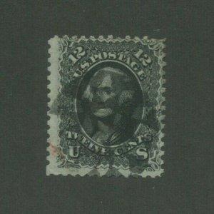 1861 United States Postage Stamp #69 Used Average Fancy Postal Cancel