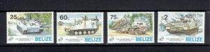 BELIZE - 1995 UN 50th ANNIVERSARY - SCOTT 1055 TO 1058 - MNH