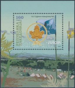 Macedonia stamp Europa CEPT block MNH 2007 Mi 17 WS136847