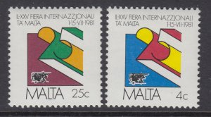 Malta 586-587 MNH VF