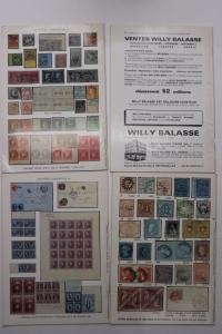 Balasse Magazine Belgium Stamp philatelic publication 1981 issues DM