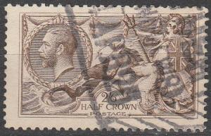 Great Britain #179 F-VF Used CV $75.00 (S7711)