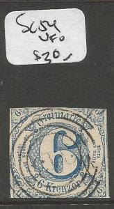 Germany Thurm And Taxis SC 54 VFU (7cpn)