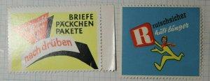R Brand Non Slip German Brand Poster Stamp Ads