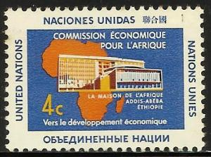 United Nations, New York 1961 Scott# 95 MNH