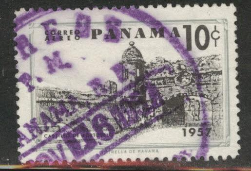 Panama  Scott C191 Used 1957  airmail stamp