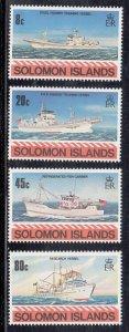 Solomon Islands Scott #421-424 MNH