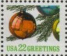 US Stamp #2368 MNH Christmas Ornament Single
