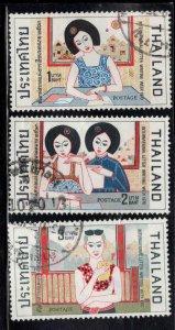 THAILAND Scott 558-560 Used short set 3/4