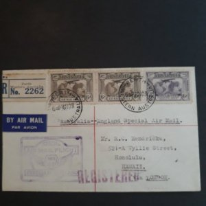 australia C3/C2 1931 airlift special air mail