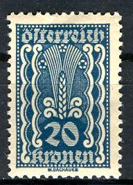 Austria; 1922: Sc. # 260: */MH Single Stamp