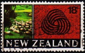 New Zealand. 1967 18c S.G.875 Fine Used