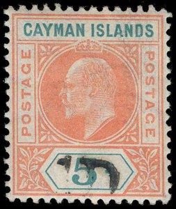 Cayman Islands Scott 19 Gibbons 19 Mint Stamp