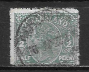 Queensland, 89, Queen Victoria Single, Used (z2)