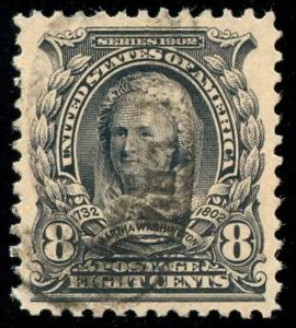 momen: US Stamps #306 Used XF+