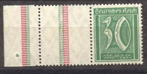 1921 Se-Tenant, Numerals, Michel RL 11 MNH, ,no faults