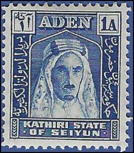 Aden Kathiri State of Seiyun #3 1942 Mint LH