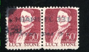 USA 1293   Pair   Used 1965-78 PD