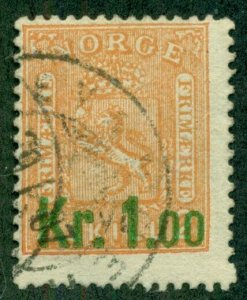 NORWAY #59, Used, Scott $35.00
