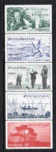 Sweden Sc 1203-07 1977 Roslagen & Taube stamp set mint NH