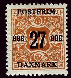 Denmark SC#152 Mint F-VF SCV$57.50...Beautiful Denmark!