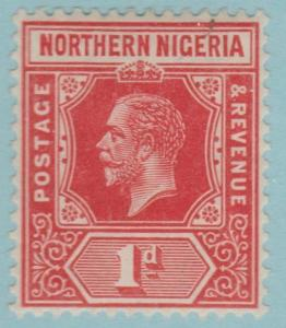 Northern Nigeria 41 Mint Hinged OG * - No Faults! Very Fine