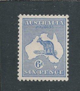 AUSTRALIA 1915-27 6d ULTRAMARINE MM SG 38 CAT £80