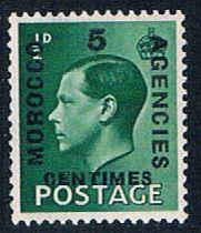 Morocco Agencies 78 MLH surcharged 1936 (M0293)+