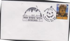 O) 1997 UNITED STATES, THE WOLF MAN, GOBLINS, FDC F