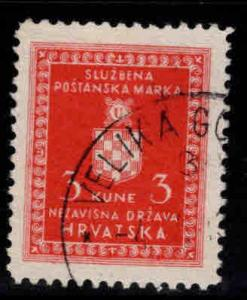 Croatia Scottt o6 Used Official stamp