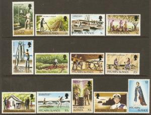 Pitcairn Islands #163-73 NH Defins.