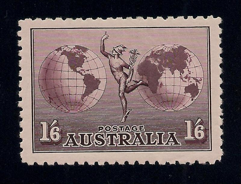Australia #C4 Violet Brown - Unused - O.G. - V.F.