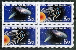 2009 MNH - EUROPA (ASTRONOMY) TWIN SET- TURKISH CYPRUS