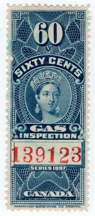 (I.B) Canada Revenue : Gas Inspection 60c